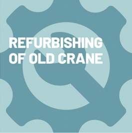 Refurbishing of Old Crane