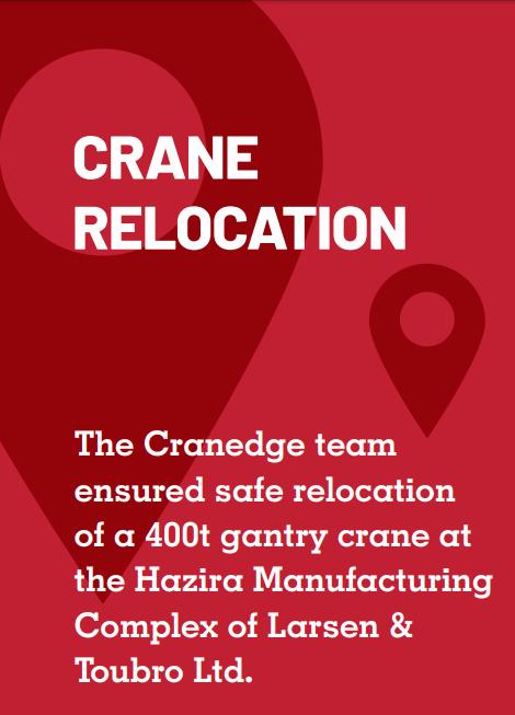 Crane Relocation