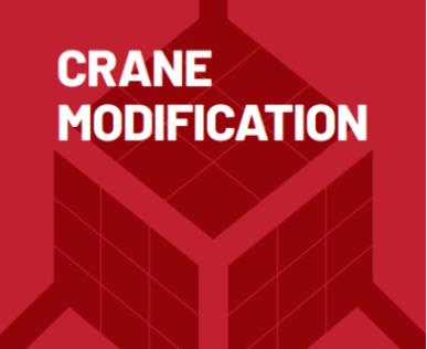 Crane modification