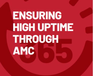 Ensuring high uptime through AMC