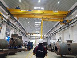 Cranedge factory