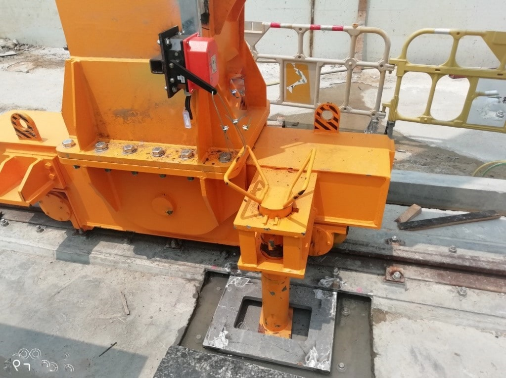 Anchoring System for Outdoor Gantry Cranes